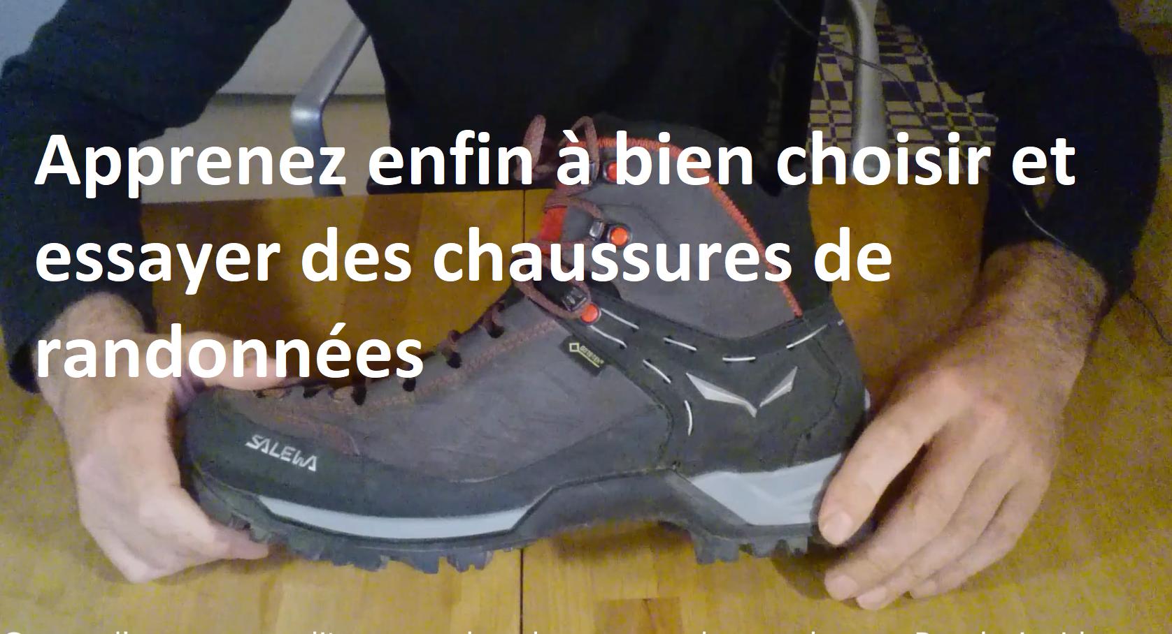 rando inside, randonnée, chaussures randonnée